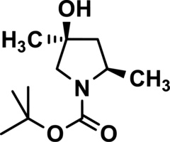 N-t-BOC-(2R,4S)-4-Hydroxy-2,4-Dimethylpyrrolidine