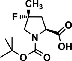 N-t-BOC-(4R)-4-Fluoro-4-Methyl-L-Proline