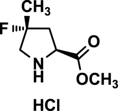 (4R)-4-Fluoro-4-Methyl-L-Proline Methyl Ester Hydrochloride